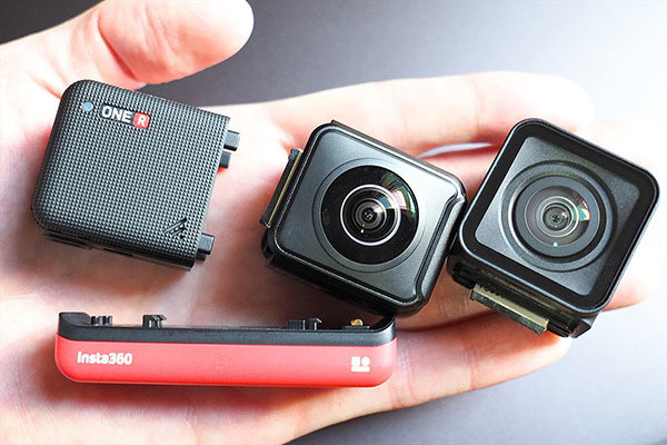"""Photo of Combined camera """"Insta 360 ONE R"""", up to 7,500 yen discount on trade-in of old GoPro"""