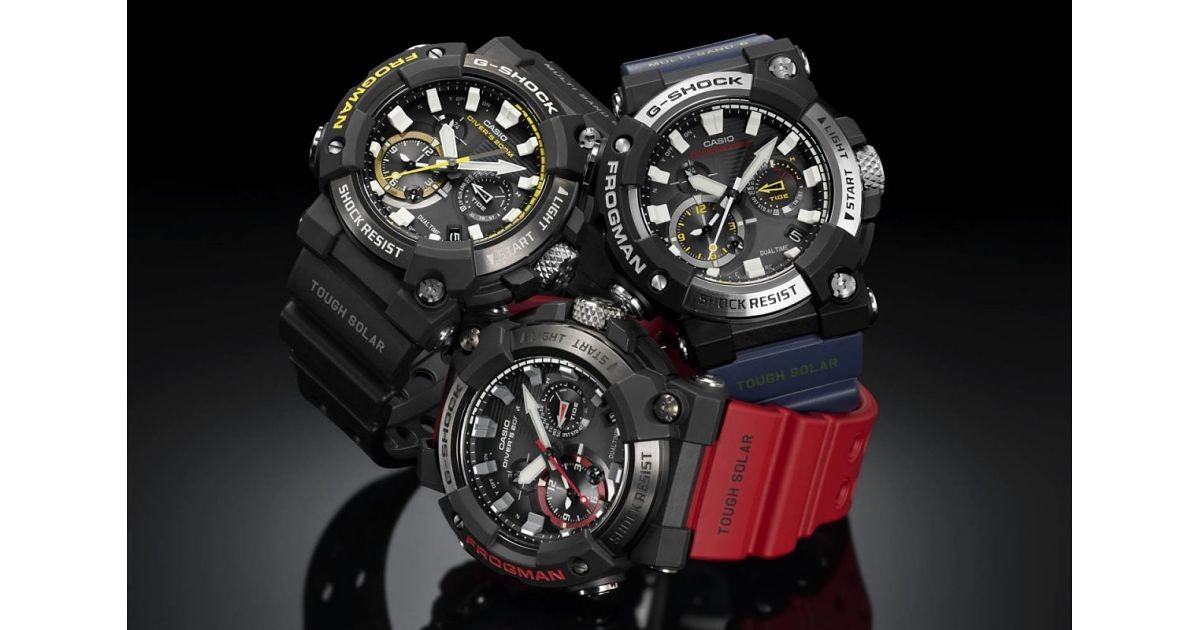 "Photo of A new model for G-SHOCK FROGMAN, the new ""frog"" is an analog model!"