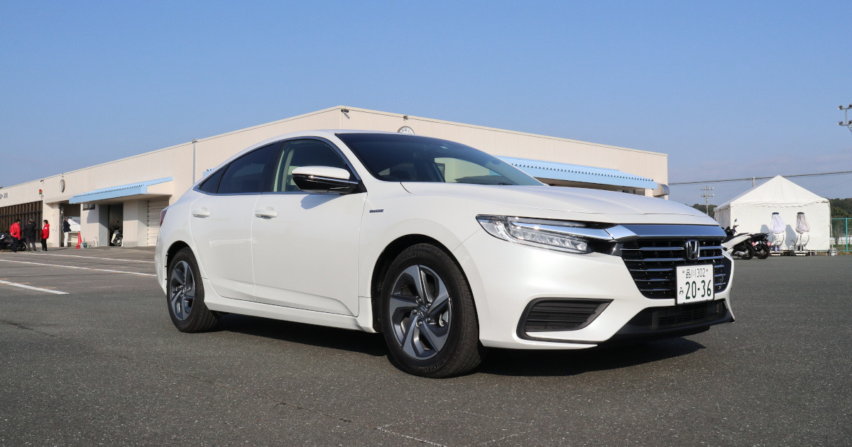"Photo of Honda's "" Insight '' has undergone a minor change-Addition of advanced grade"