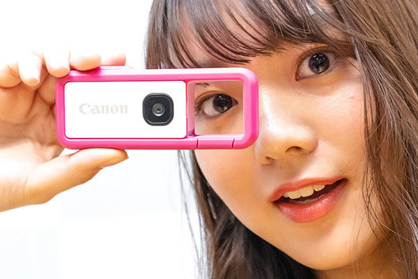 """Photo of Canon's camera for students """"iNSPiC REC"""", students appeal themselves"""