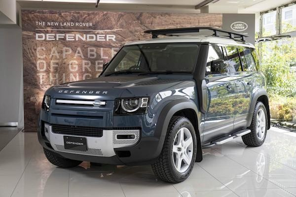 "Photo of Land Rover debuts new ""DEFENDER 110 (5 door)"""