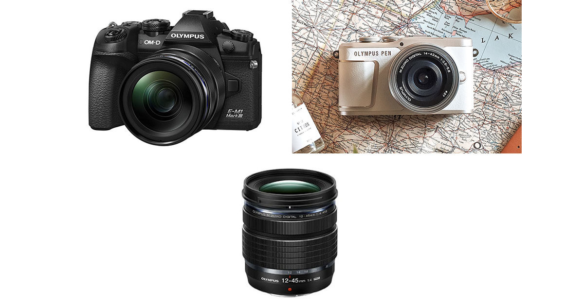 Photo of Continue to sell and support Olympus, video products such as cameras and lenses
