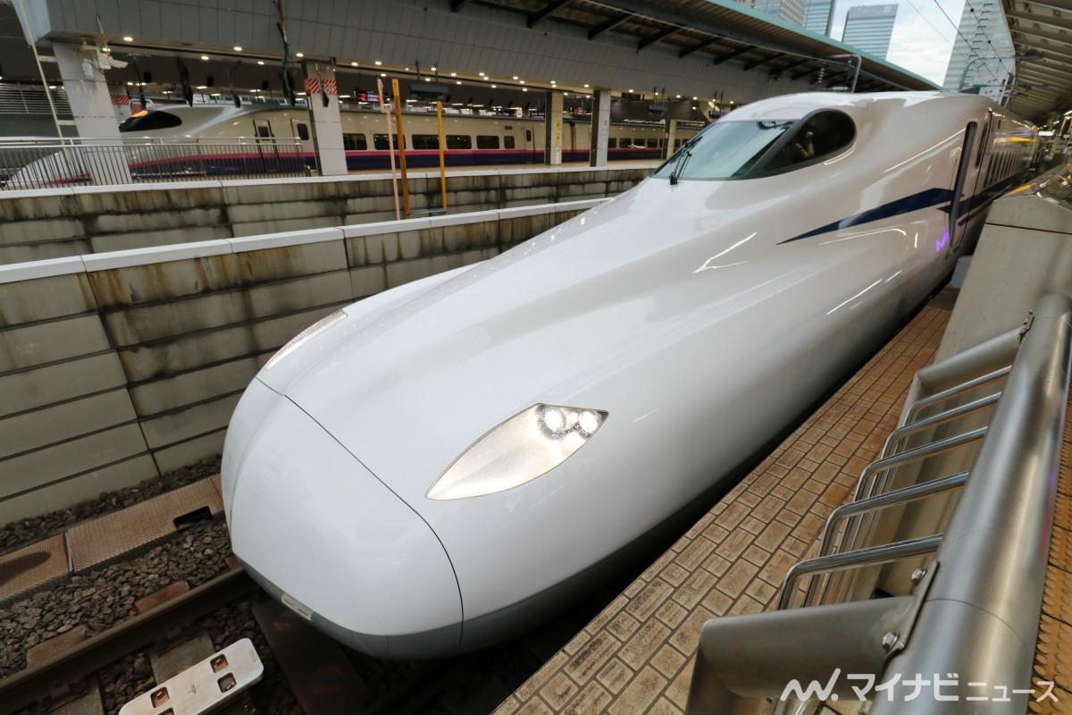 JR東海N700S、東海道・山陽新幹線「のぞみ1号」で新型車両デビュー | マイナビニュース