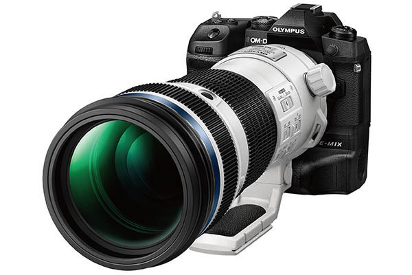 Photo of Olympus announces development of two interchangeable lenses E-M1X adds bird recognition AF
