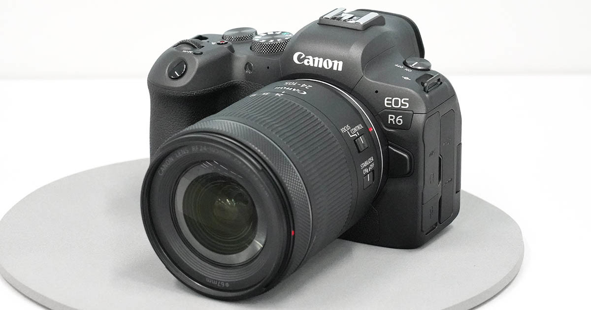 "Photo of Canon announces ""EOS R5"" and ""EOS R6,"" which are ""high-performance mirrorless"" mirrorless cameras"
