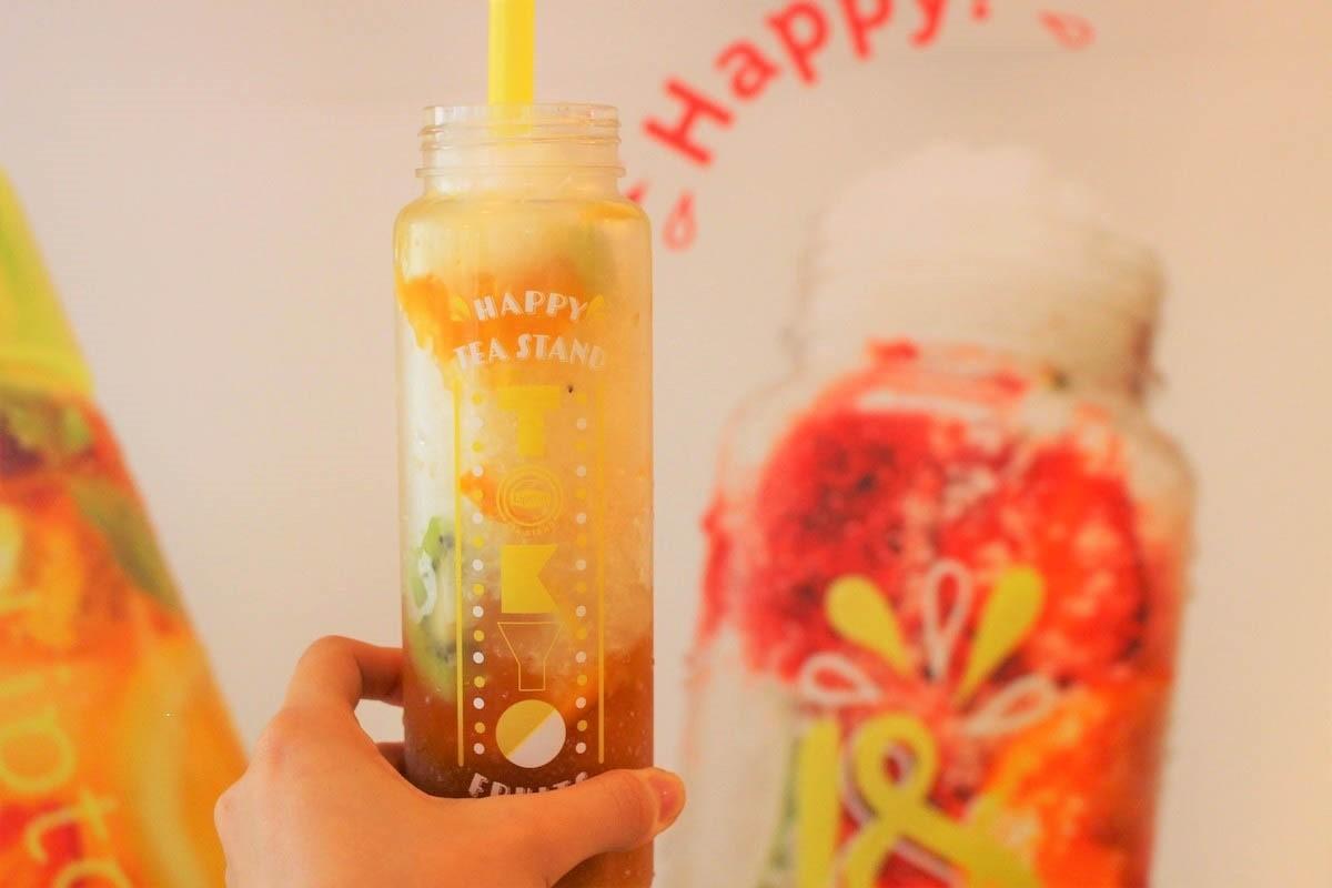 """リプトン「Fruits in Tea」で、紅茶×フルーツの冷たい""""パフェ氷""""と""""ドリンク""""を楽しもう!"""
