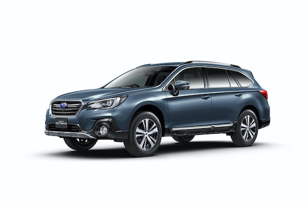 """Photo of Partial modification of SUBARU """"Legacy Outback''-Enables confirmation of fuel economy close to actual conditions"""