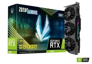ZOTAC、NVIDIA GeForce RTX 3090搭載カード「ZOTAC GAMING GeForce RTX 3090 Trinity」