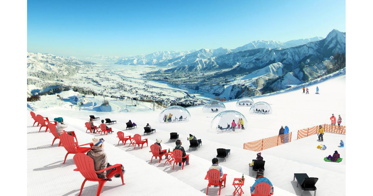 「雪に慣れないインドア派」も楽しめるエリア、新潟のスキー場にオープン