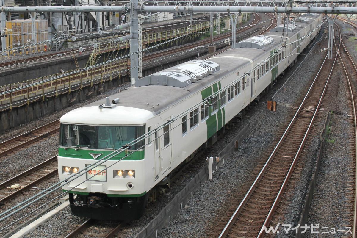 JR東日本185系、定期運用終了後も関東エリアで臨時列車として運転 ...
