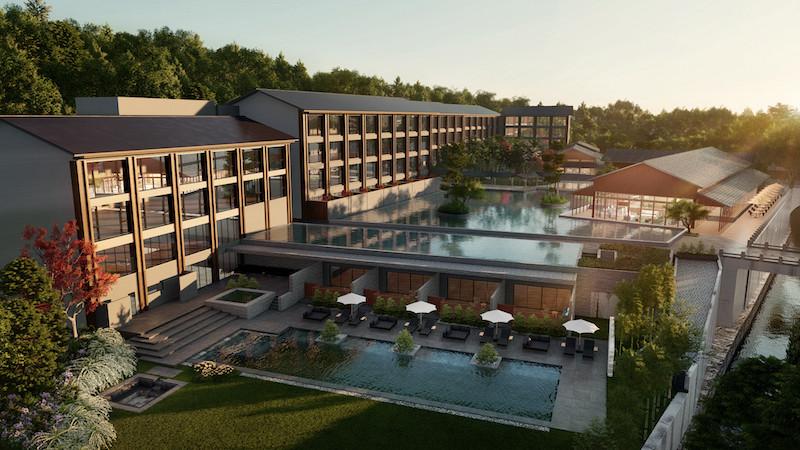 アジア初上陸のヒルトンラグジュアリーホテル「ROKU KYOTO」が京都に開業