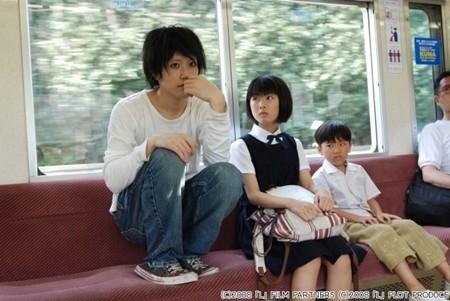 松山ケンイチ 電車