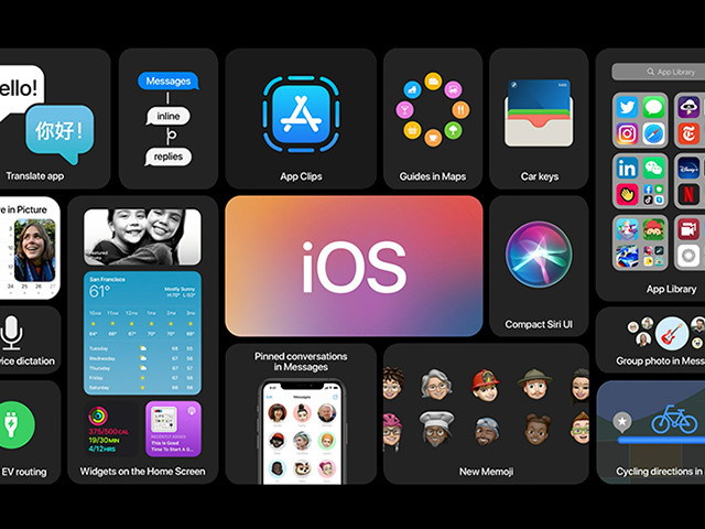 """Photo of iPhone basic """"ki"""" 404th application may change significantly between resident and temporary use-""""iOS 14"""" feature announced at WWDC"""