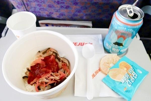 機内食図鑑 第31回 務安ってどこ? 韓国LCC・チェジュ航空で味わうお手軽ビビンバ
