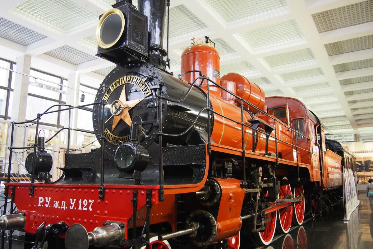 シベリア鉄道9,300km、モスクワへの旅(4) モスクワの鉄道博物館めぐり ...