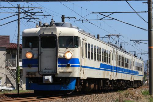 鉄道写真コレクション(297) JR西日本、北陸本線に残る急行形電車 ...