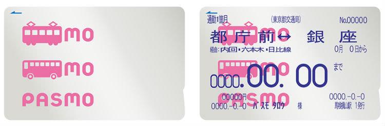 PASMOカードと定期券