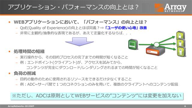 【特別企画】負荷分散だけじゃないクラウド時代のADC活用術 - Webサービスにおけるパフォーマンスチューニング