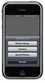 【連載】実践! iPhoneアプリ開発 [1] カメラアプリの作り方 (1) - イメージピッカーのためのアクションシートを作る