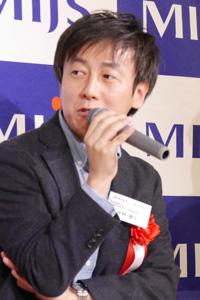 サイボウズ 代表取締役社長 青野 慶久氏