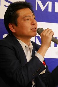 東洋ビジネスエンジニアリング 常務取締役 CMO/CTO 羽田 雅一氏