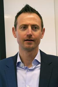 米Webroot 製品戦略兼技術アライアンス担当上級副社長 チャド・バッカー氏