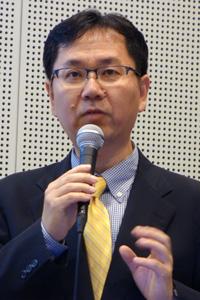 NHK 情報システム局 IT企画部 情報セキュリティ対策 専任部長 熱海徹氏
