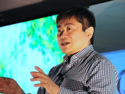デジタルガレージ共同創業者でMIT メディアラボ所長の伊藤穰一氏
