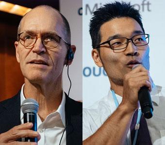 Hadoop生みの親と「ウェブ魚拓」を開発した握力王が異色の対談! テーマはITと健康管理、そして医療