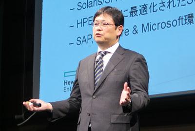 日本ヒューレット・パッカード エンタープライズグループ事業統括 データセンター・ハイブリッドクラウド事業統括 執行役員 大月剛氏