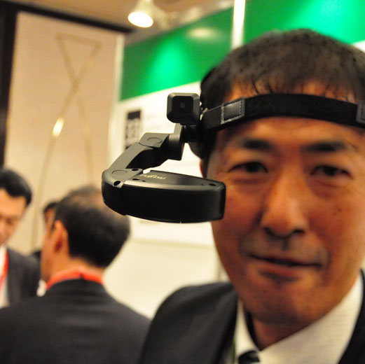 IoTで作業員の転倒通知、ドライバーの眠気検知も - 写真で見る最新ソリューション