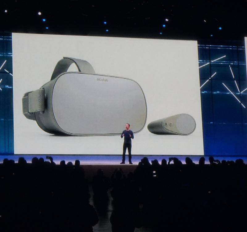 Oculus Goを199ドルで販売するFacebookの「VR/AR戦略」 - F8 2018
