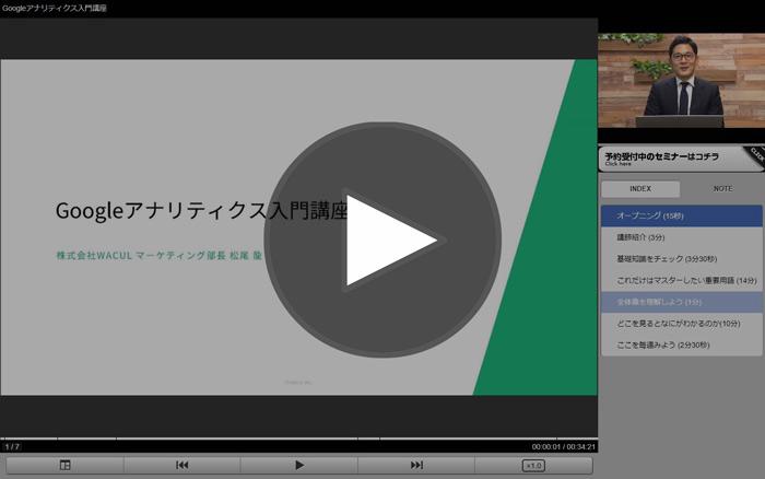 [解説動画] Googleアナリティクス入門講座