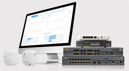 Aruba Centralでは、対応するAruba製品を設置してケーブルにつなぐだけで、ネットワーク構成が自動的に管理ポータルへ適用される