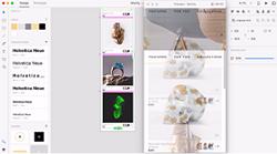 Adobe XDの画面