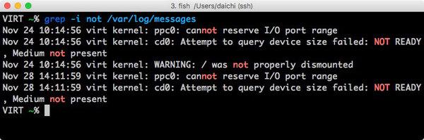 【連載】にわか管理者のためのLinux運用入門 [51] フィルタコマンドを使う(その3)