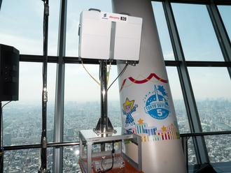 5Gで8K動画配信 - NTTドコモと東武、スカイツリーで「5Gトライアルサイト」をスタート