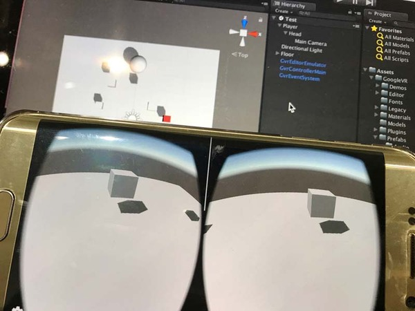 連載】VRコンテンツの作り方 [14] Unityで汎用スマホ向けVR