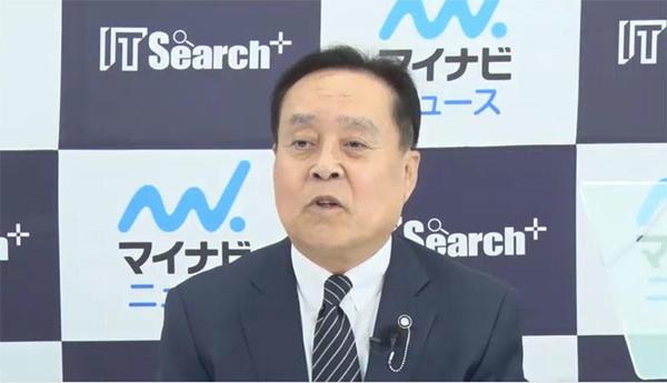 日本瓦斯 代表取締役社長 執行役員 和田眞治氏