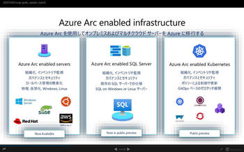 Azrure Arc enabled infrastructure
