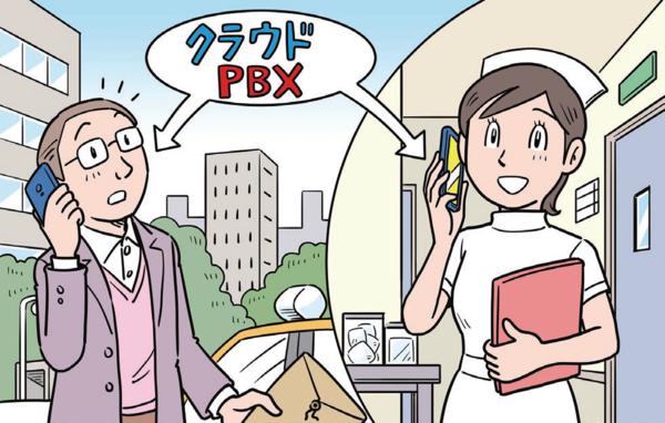 医療機関では、PHSから法人スマホへと通話端末のシフトが進んでいる