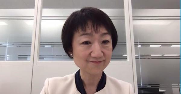日本IBM 常務執行役員 パートナー・アライアンス事業本部長の三浦美穂氏
