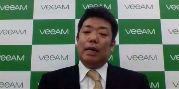 ヴィーム・ソフトウェア ソリューション・アーキテクトの高橋正裕氏