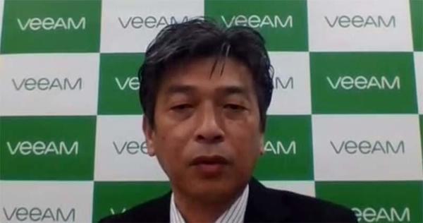 ヴィーム・ソフトウェア システムズエンジニア本部 本部長の吉田慎次氏