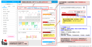 ユーザーのホーム画面も必要な情報が1画面で集約されている