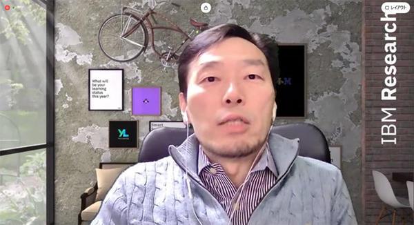 日本IBM 理事 東京基礎研究所所長の福田剛志氏