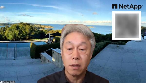 ネットアップ 常務執行役員CTOの近藤正孝氏