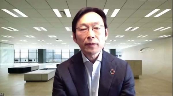NTT 取締役 プラットフォームサービス本部 データプラットフォームサービス部長の佐々倉秀一氏