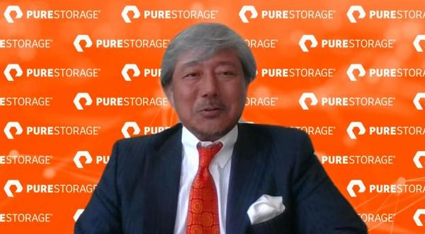 ピュア・ストレージ・ジャパン 代表取締役社長の田中良幸氏