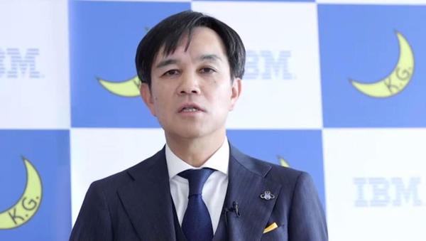 日本IBM 専務執行役員 グローバル・ビジネス・サービス事業本部長の加藤洋氏